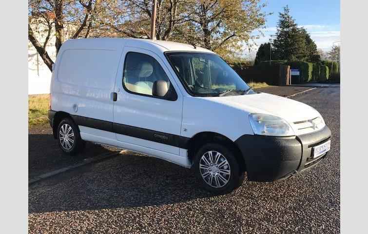 dd8c5674fe9ac4 CITROEN BERLINGO 1.9 LX 600 D ENTERPRISE 1d 68 BHP White 2006