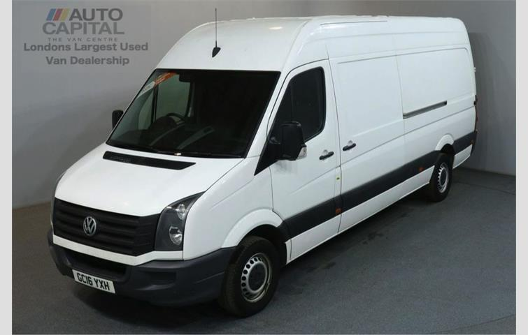 29936a0329 VOLKSWAGEN CRAFTER 2.0 CR35 TDI 135 BHP L3 H3 LWB H ROOF White 2016 ...