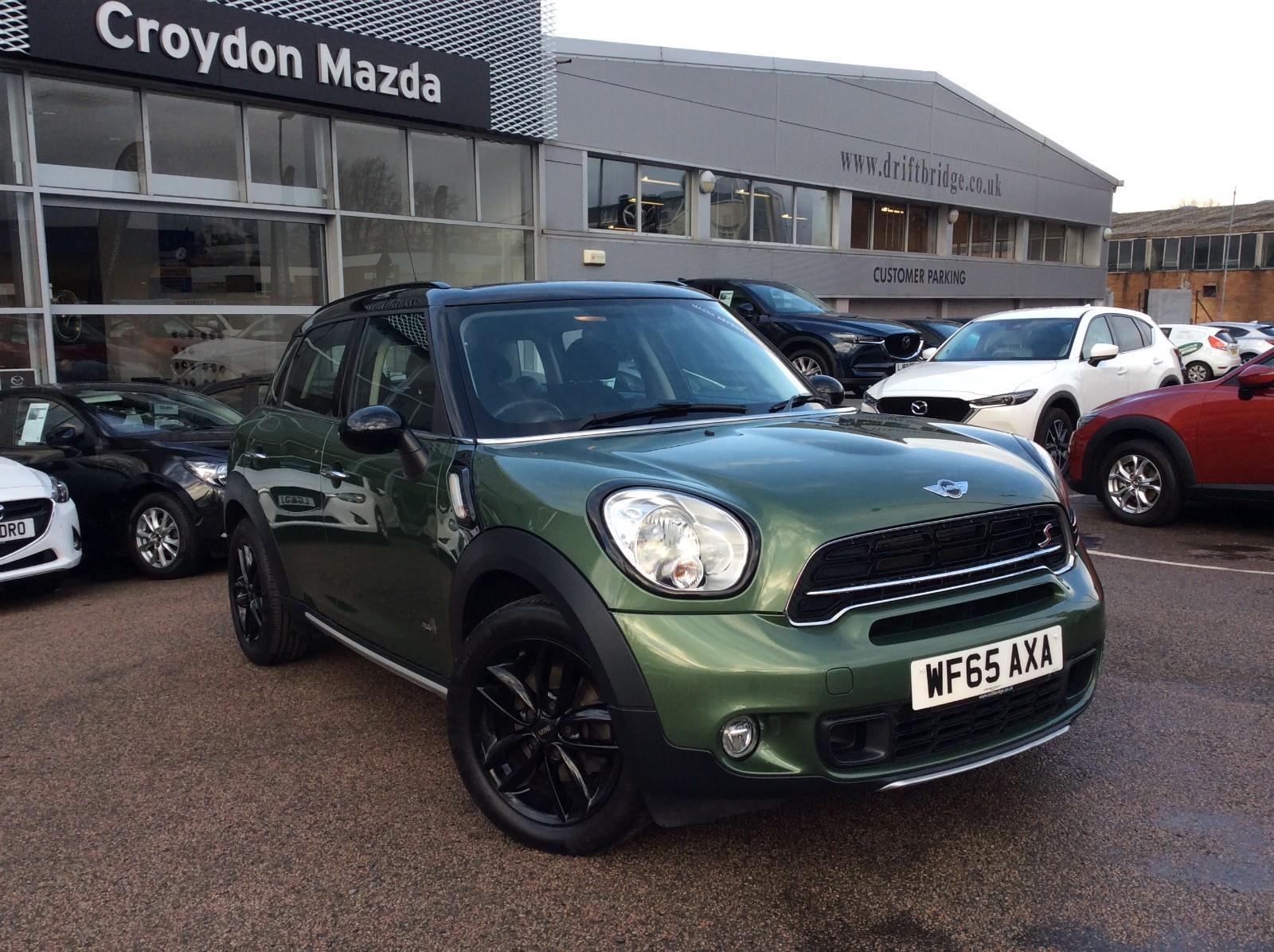 Mini Countryman 20 Cooper S D All4 5dr Green 2015 Ref 7422415