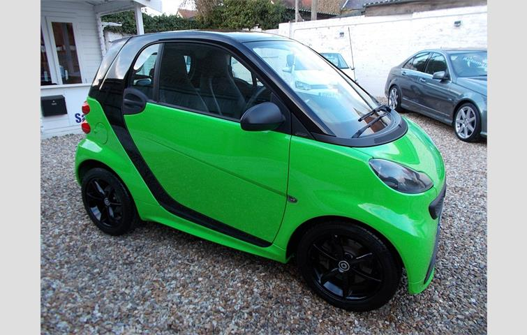Smart Fortwo Coupe Grandstyle Edition Plus Mhd Sorry Now Sold Green 2017 Ref 7452371