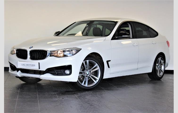 Bmw 3 Series Gt 318d Luxury Full Leather Pan Roof White 2014 Ref