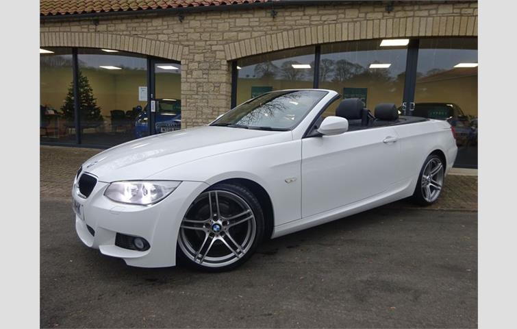 Bmw 3 Series Convertible Automatic Sel 320d M Sport White 2017 Ref 7462871