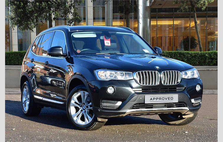 Bmw X3 Xdrive20d M Sport 5dr Step Auto Full Specification Black 2014