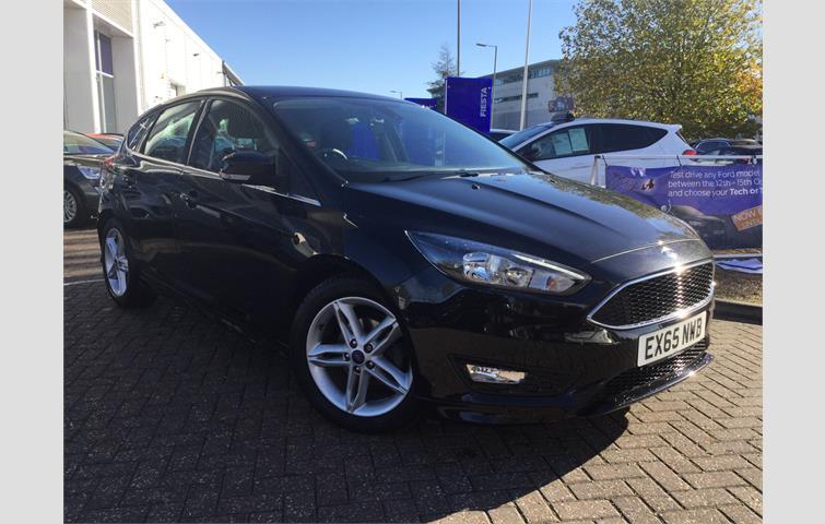 Ford Focus Zetec S Black 2015 Ref 7526138