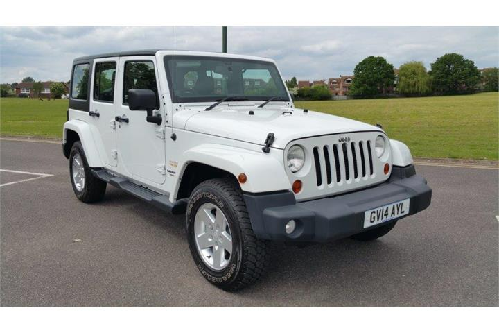 Jeep Wrangler 2.8 CRD Sahara Hard Top 4x4 5dr