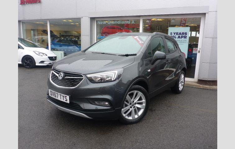 38c4cd688e Vauxhall Mokka X ACTIVE 1.4 TURBO 140PS ECOTEC S S Grey 2017