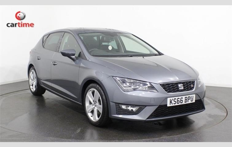 מעולה  SEAT LEON 1.4 TSI FR BLACK TECHNOLOGY Grey 2016 | Ref: 7440196 HG-96
