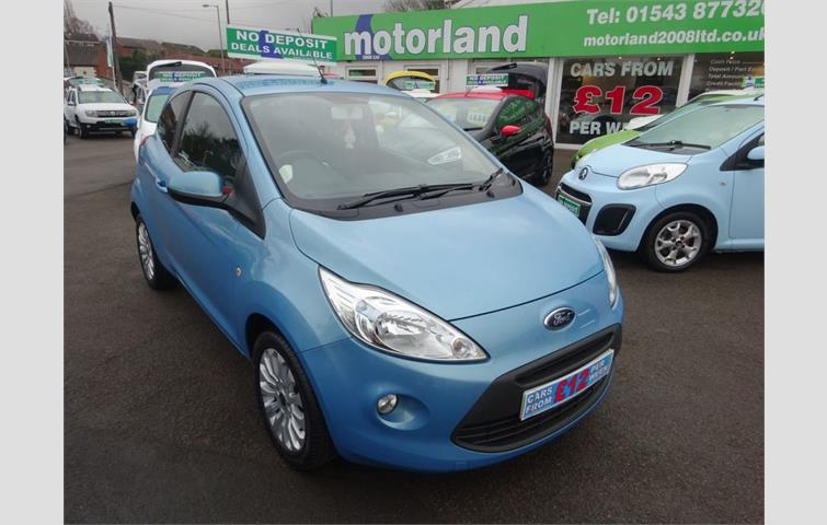 Ford Ka Zetec Dr Bluetooth With Voice Control  Road Tax Heated Windscreen Privacy Glass Usb Port Electric Windows And Wing Mirrors