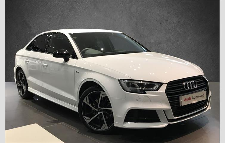 Audi A3 A3 Saloon Black Edition 30 Tdi 116 Ps 6speed White 2019