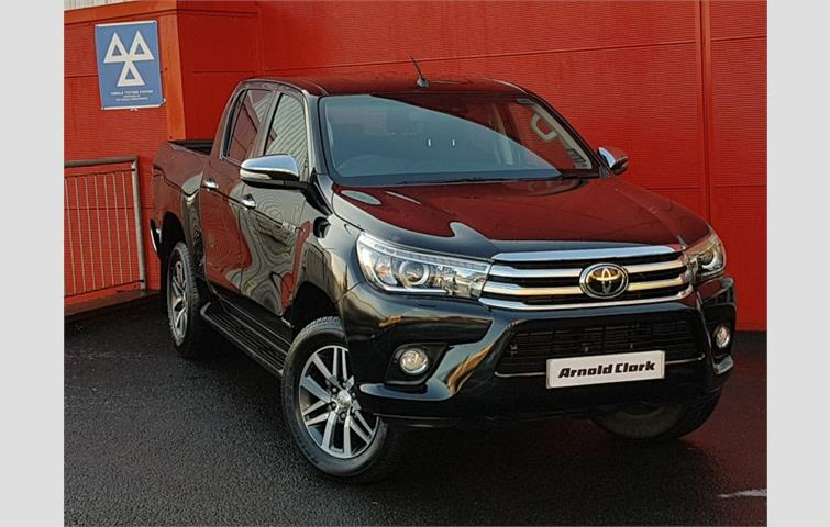 Toyota Hilux Invincible D/Cab Pick Up 2 4 D4D Black 2018 | Ref: 7711598