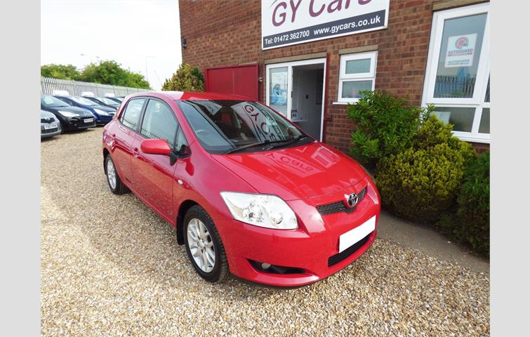 Toyota Auris 2 0 D4d Tr 5dr Comes With 15 Months Warranty Red 2008