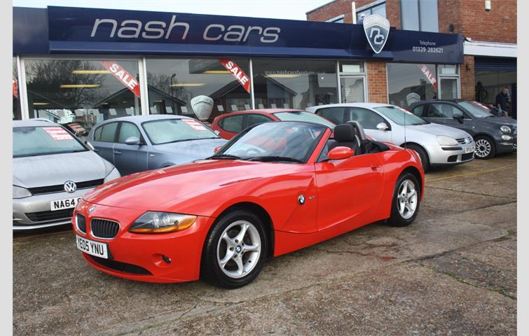 Bmw Z4 2 5 Z4 Roadster 2dr Red 2003 Ref 2827672