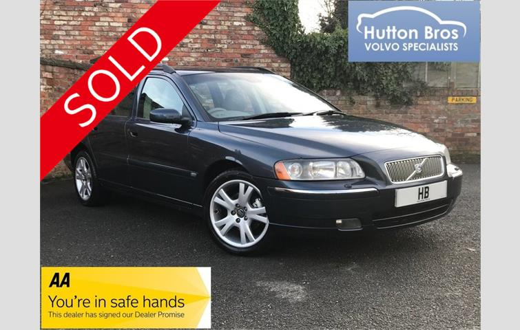 Volvo V70 V70 2 4 140 SE Manual++ONE OWNER++PERFECT SERVICE HISTORY+ Blue  2005 | Ref: 7752530