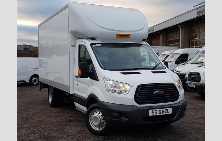 be5040ecab Ford Transit 2.2 TDCi 125ps Chassis Cab White 2016