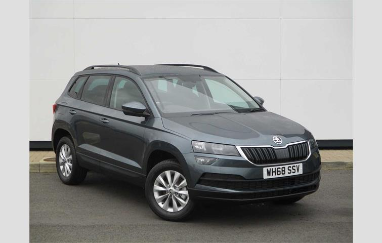 Skoda Karoq Suv 1 0 Tsi 115ps Se Nav Plus Grey 2019 Ref