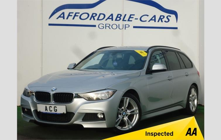 Bmw 3 Series 320d M Sport Touring 5dr Silver 2013 Ref 7801464