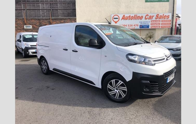 673f4d45fa Citroen Dispatch 1.6 BlueHDi Enterprise M 1000 Panel Van 5dr EU6 White 2017