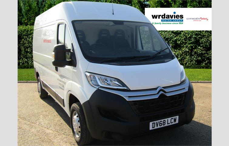 b6b6d182e3 Citroen Relay 2.0 BlueHDi 130hp 35 L2H2 Enterprise White 2018