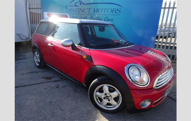Mini Clubman 14 One 5d 94 Bhp Red 2009 Ref 6078682
