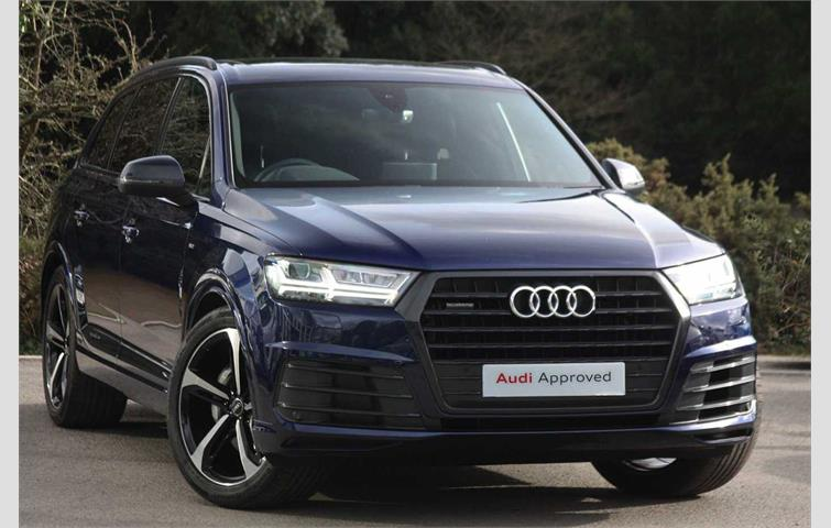 Audi Q7 Black Edition 50 Tdi Quattro 286 Ps Tiptronic Blue 2019