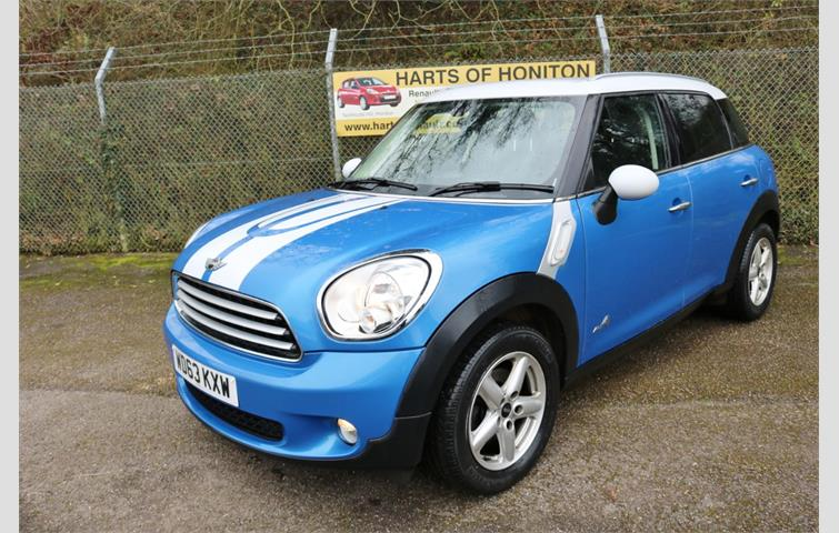 Mini Countryman 16 Cooper D All4 Turbo Diesel 5dr 4x4 Blue 2013
