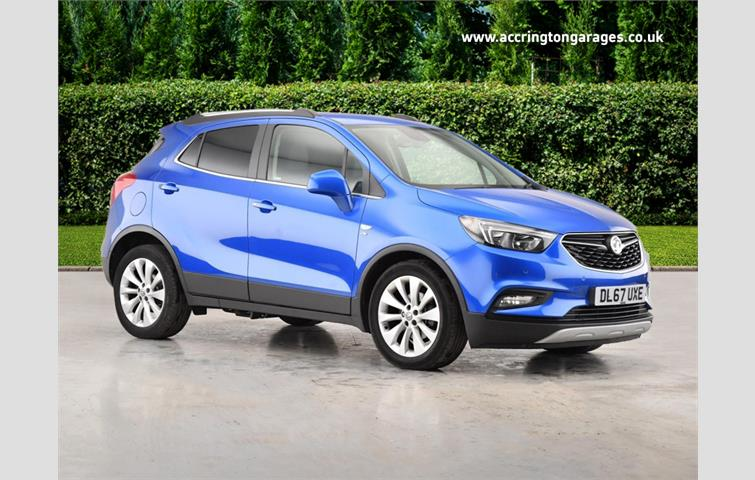19eb9b0e8e Vauxhall Mokka X 1.4i 16v Turbo 140ps Design Nav s s Blue 2017