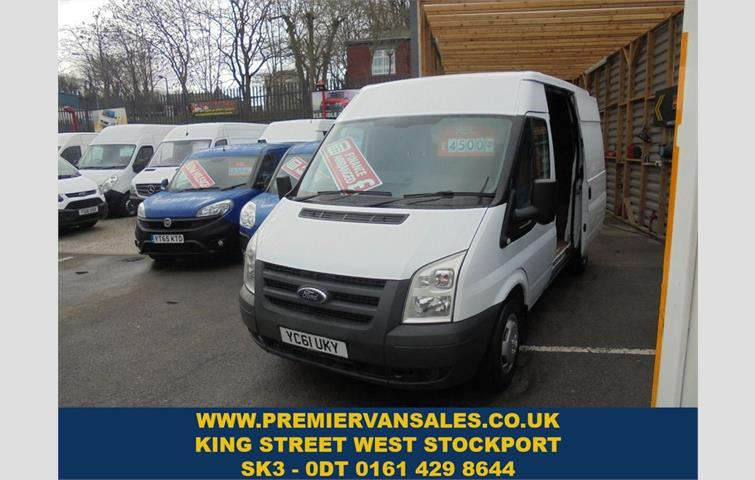 44ec7a8493 FORD TRANSIT CONNECT 1.8 T230 LWB HIGH ROOF 110 BHP White 2011
