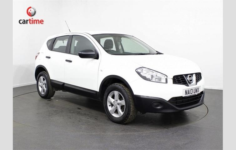 NISSAN QASHQAI 1.5 dCi Visia 2WD 5d 110 BHP Bluetooth Air Con 6 Speed Manual Gearbox 16 inch Alloys