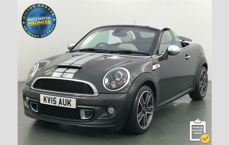 Mini Roadster Cooper Sd Roadster Convertible Reserved Grey 2015
