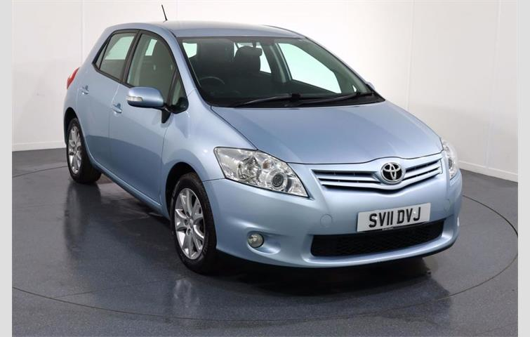 Toyota Auris 1 6 Sr 16v 5d New Shape Blue 2011 Ref 5674528