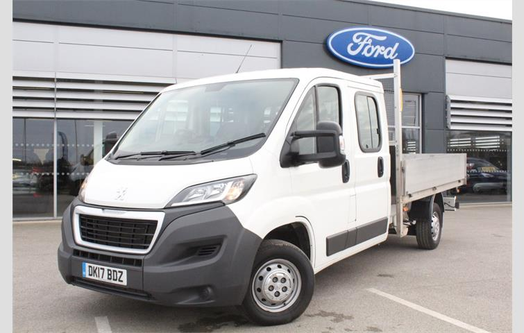 8bf531e683 Peugeot Boxer 2.0 BlueHDi Crew Cab Chassis 130ps 2017