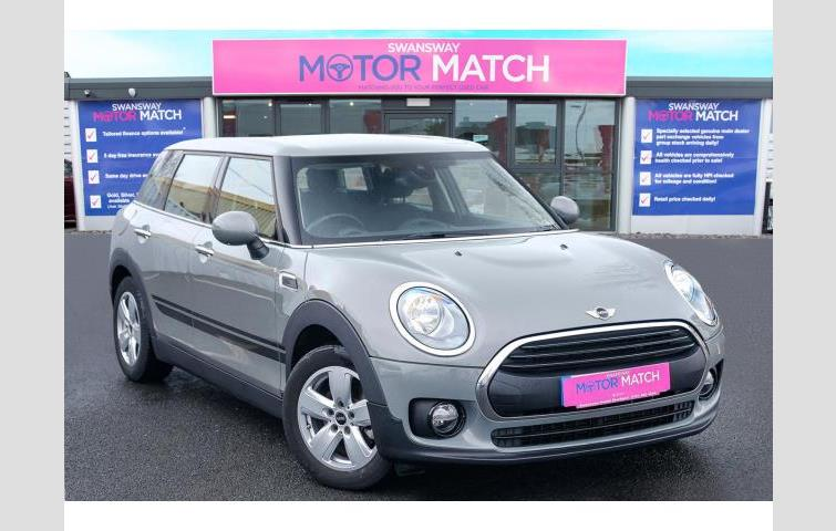 Mini Clubman 20 Cooper S 6dr Chilimedia Pack Xl Grey 2015 Ref