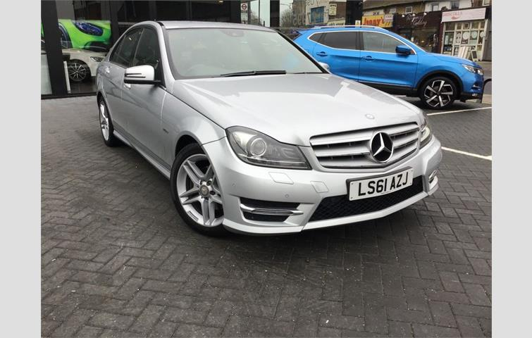 Mercedes C220 CDI BLUEEFFICIENCY SPORT ED125 SAT NAV LEATHER FMSH