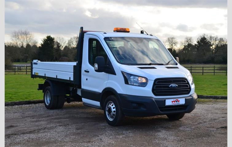 a17d50b193 FORD TRANSIT 2.0 350 Euro 6 Tipper single cab DRW double rear wheels