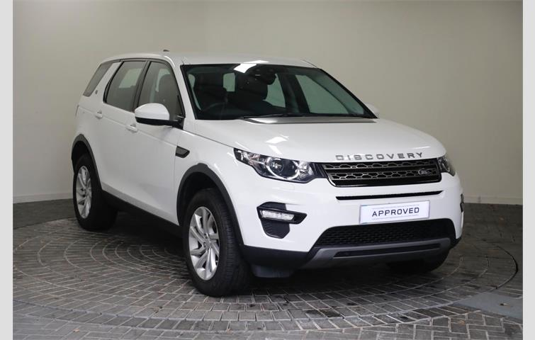 Land Rover Discovery Sport 2 0 Td4 180 Se Tech 5dr Auto White 2017 Ref 8305111