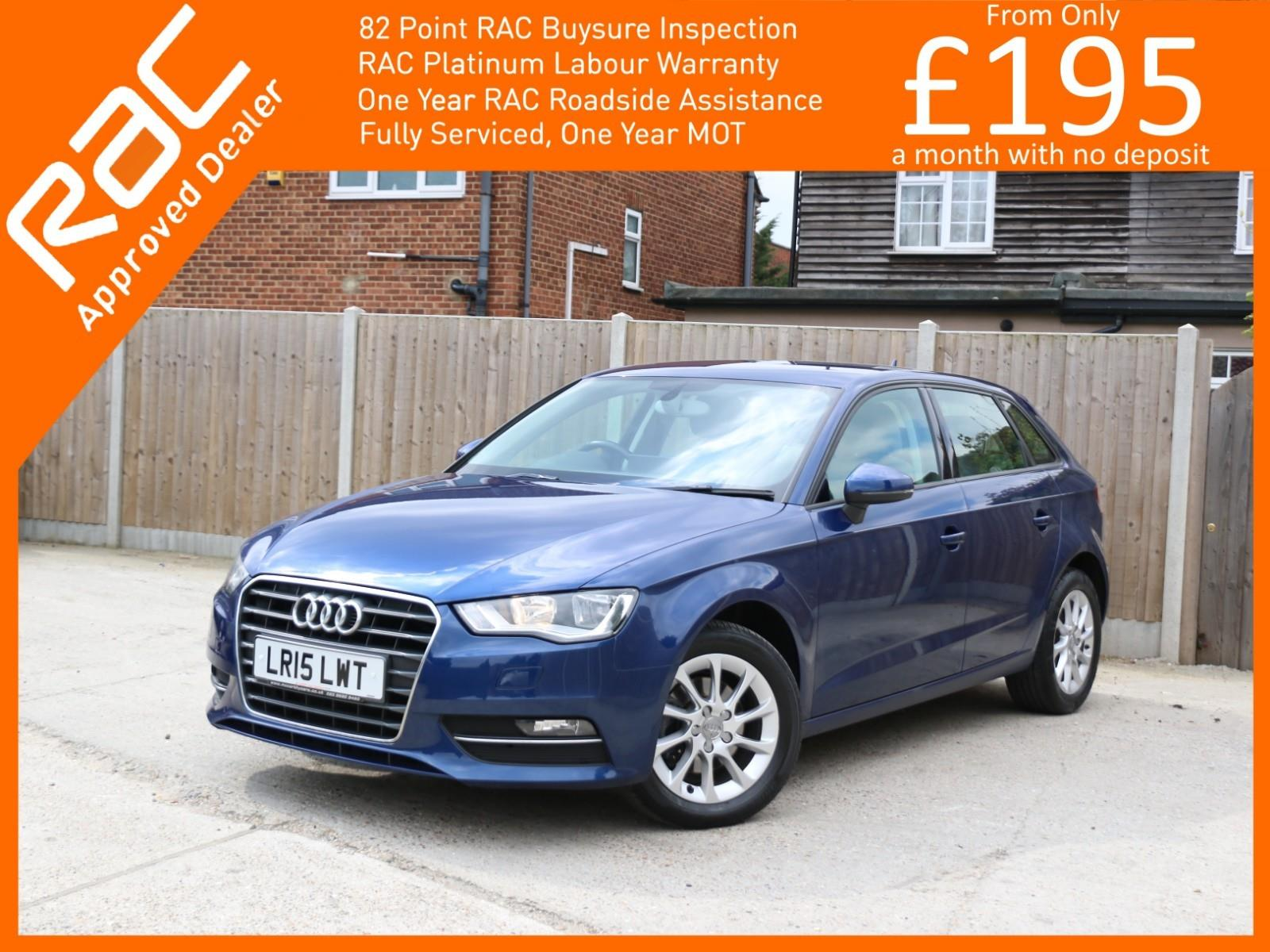 Audi A3 1 2 TFSI SE 5 Door 6 Speed Bluetooth DAB Air Con Alloys Just 1  Owner Only 49,000 Miles Full Service History Only £30 a Year Road Tax NO