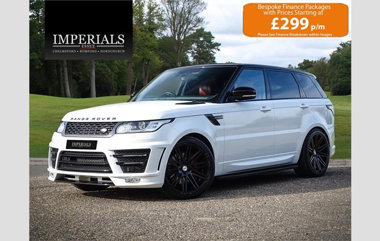 Land Rover Range Sport 3 0 Sdv6 Autobiography Dynamic With Ultimate Styling 8 Sd Auto