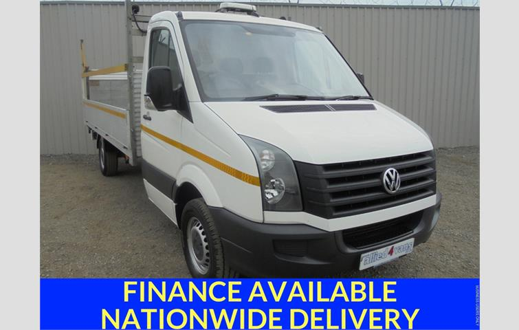4c275caf0d VOLKSWAGEN CRAFTER CR35 TDI 136 LWB HIGH ROOF White 2015