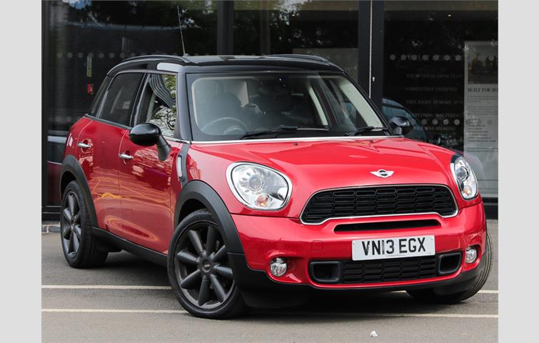 Mini Cooper S Diesel Countryman Hatchback 20 D 5dr Auto Red 2015