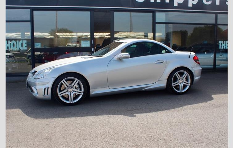 Make: Mercedes, Model: Slk, Colour: Silver, Year: 2005, Mileage: 61,000, Fuel: Petrol, Transmission: Automatic, Body Type: Convertible, Price: £14,495, Advert ID: 8431334