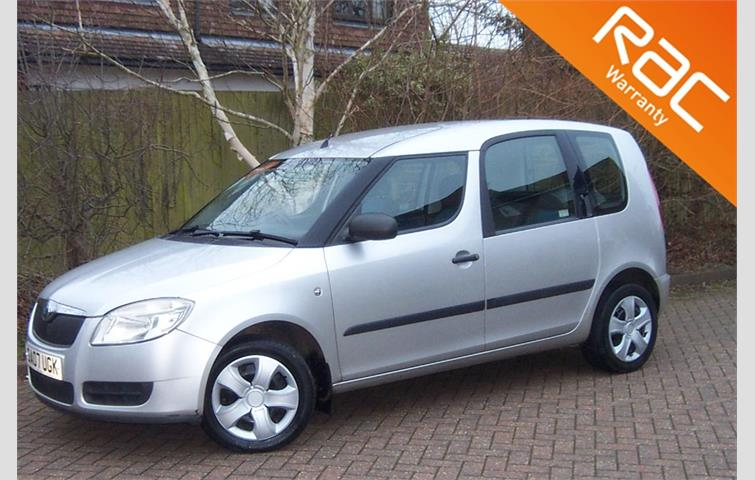 Make: Skoda, Model: Roomster, Colour: Silver, Year: 2007, Mileage: 88,541, Fuel: Petrol, Transmission: Manual, Body Type: Hatchback, Price: £2,495, Advert ID: 8516323