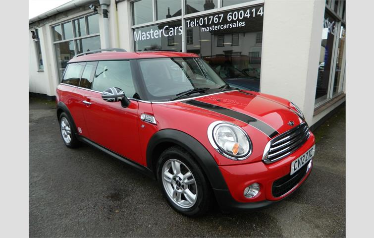 Mini Clubman 16 One D 5dr Red 2012 Ref 7126730