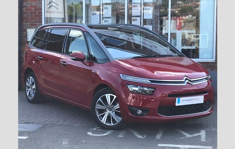 fb0f0990379885 Citroen Grand C4 Picasso 1.6 HDi 16v VTR+ EGS 5dr Red 2009 | Ref ...