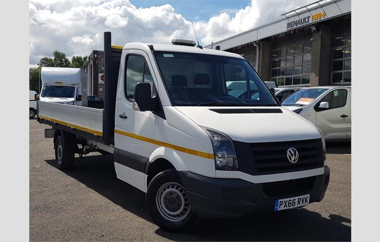 Volkswagen Crafter 2 0 TDI BMT 109PS Extra High Roof Van White 2016
