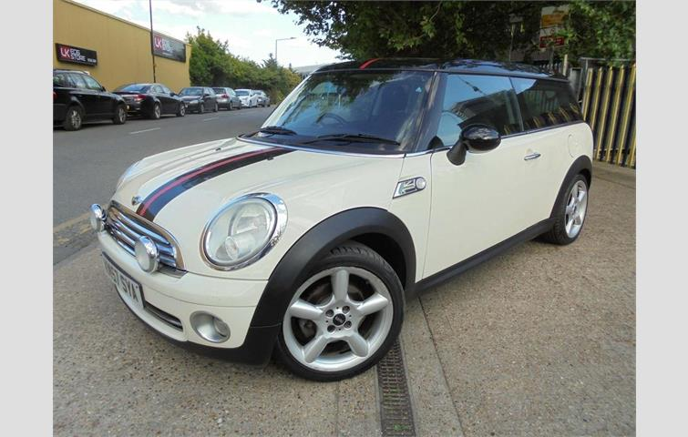 Mini Clubman 14 One Cat D Writeoff White 2009 Ref 6292189