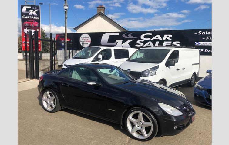 Make: Mercedes, Model: Slk, Colour: Black, Year: 2005, Mileage: 58,491, Fuel: Petrol, Transmission: Manual, Body Type: Convertible, Price: £5,650, Advert ID: 8595732
