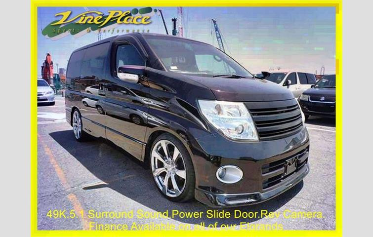 NISSAN ELGRAND Highway Star 2.5L Automatic 49k Power Side Door