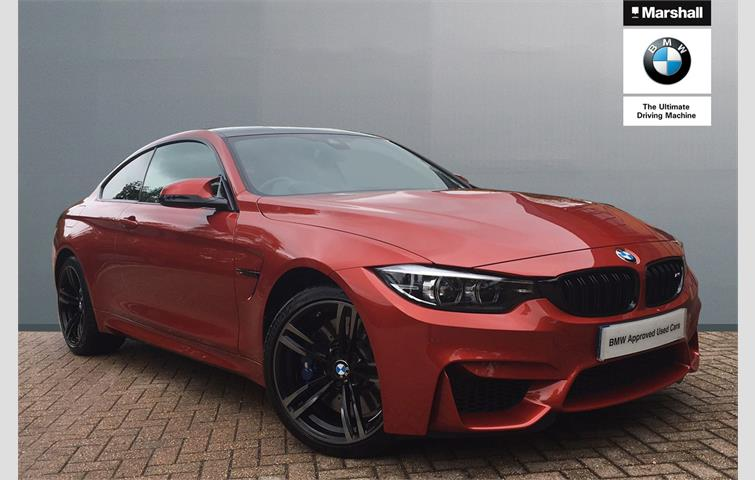 Bmw M4 2dr Dct Competition Pack Orange 2019 Ref 8809641