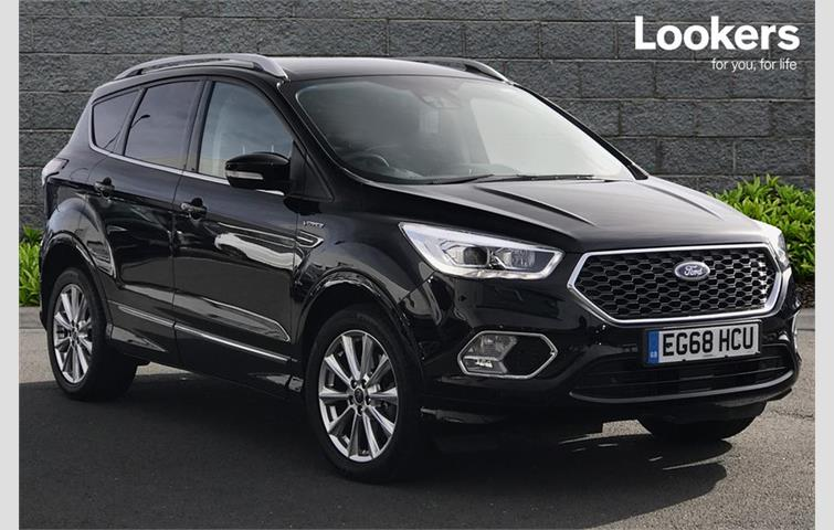 Ford Kuga Vignale 2 0 Tdci 180 5dr Auto 4x4 Crossover Black 2019