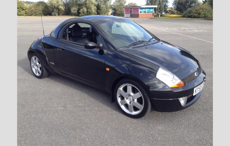Model Ford Streetka Colour Black Year